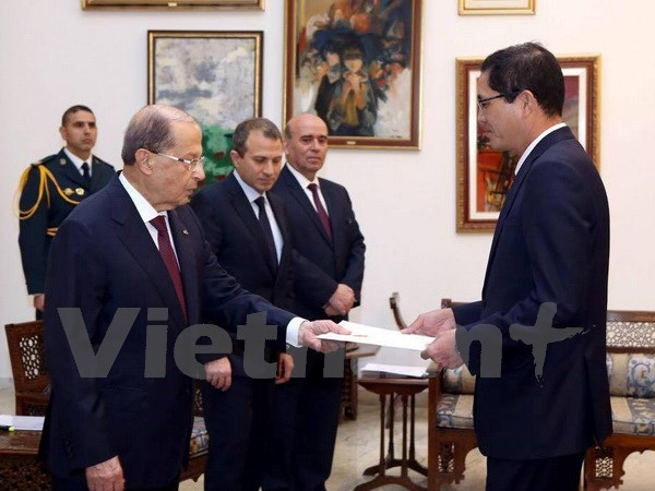 Lebanese President vows to further enhance ties with Vietnam, Government news, Vietnam breaking news, politic news, vietnamnet bridge, english news, Vietnam news, news Vietnam, vietnamnet news, Vietnam net news, Vietnam latest news, vn news