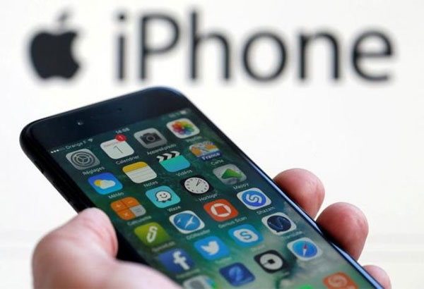 Apple posts surprise dip in iPhone sales, shares fall
