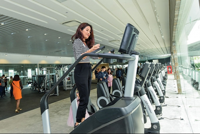 Fitness centers riding the wave in Vietnam