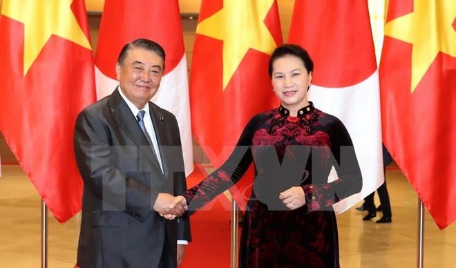 Top Vietnamese, Japanese legislators hold talks in Hanoi
