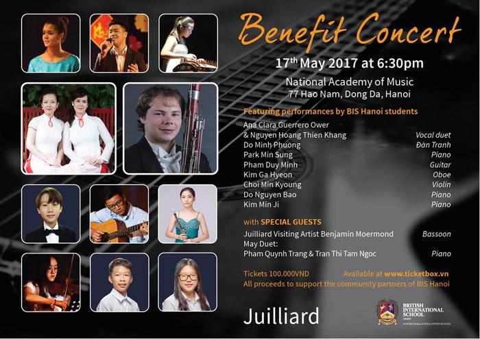BIS Hanoi Benefit Concert on May 17