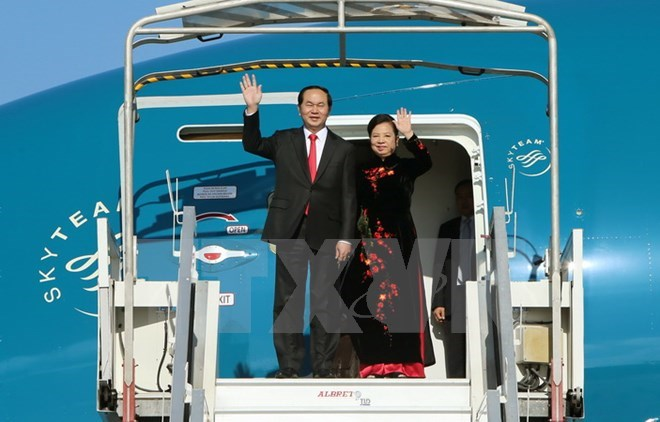 Vietnamese President's visit to China to strengthen Party, State relations, Government news, Vietnam breaking news, politic news, vietnamnet bridge, english news, Vietnam news, news Vietnam, vietnamnet news, Vietnam net news, Vietnam latest news, vn news
