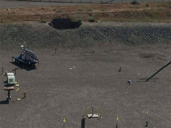 Washington nuclear rubbish plant, tunnel collapse, no deviation released