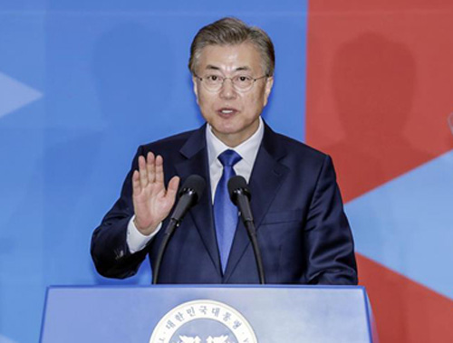 New South Korean president makes important appointments after swearing-in