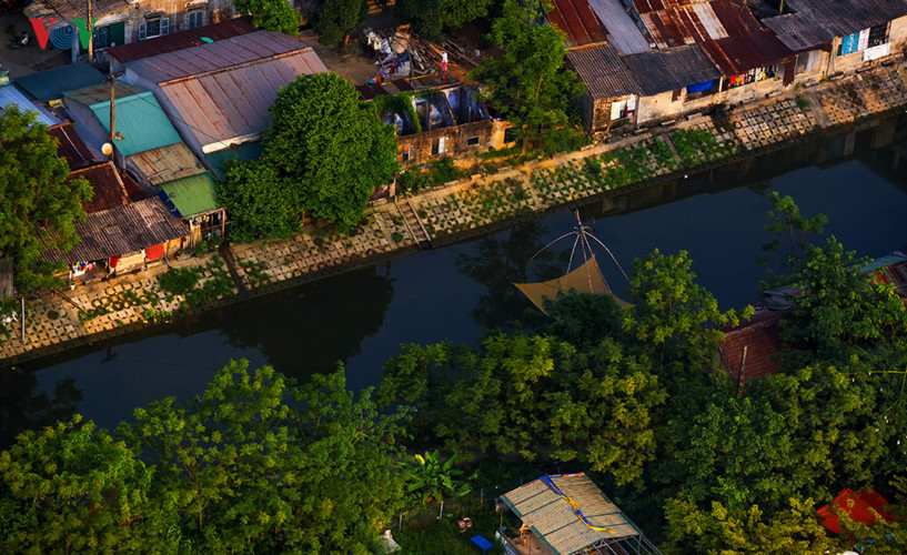 Stunning beauty of Hue ancient capital from height