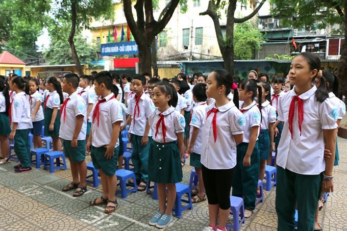 School enrollment time a headache for Hanoi parents, social news, vietnamnet bridge, english news, Vietnam news, news Vietnam, vietnamnet news, Vietnam net news, Vietnam latest news, vn news, Vietnam breaking news