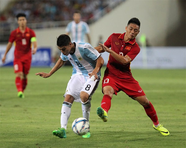 U22 Vietnam lose to Argentina