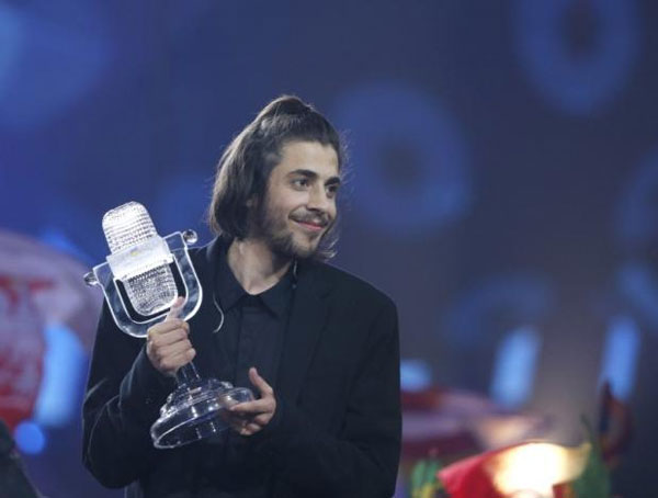 Eurovision Song Contest, Portugal's Salvador Sobral, win