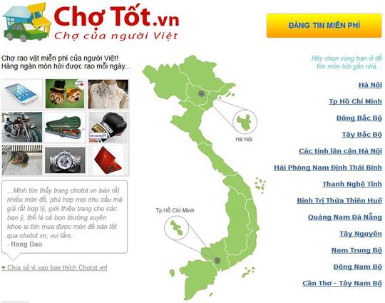 vietnam economy, business news, vn news, vietnamnet bridge, english news, Vietnam news, news Vietnam, vietnamnet news, vn news, Vietnam net news, Vietnam latest news, Vietnam breaking news, Cho Tot, e-commerce, Telenor, VECOM