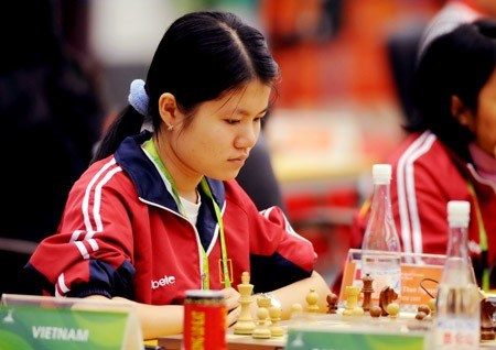Vietnam's female chess player leads in Asian champs, Sports news, football, Vietnam sports, vietnamnet bridge, english news, Vietnam news, news Vietnam, vietnamnet news, Vietnam net news, Vietnam latest news, vn news, Vietnam breaking news