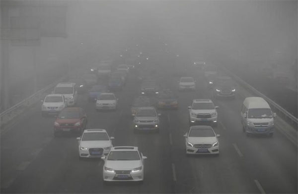 Northern China, smog, air pollution