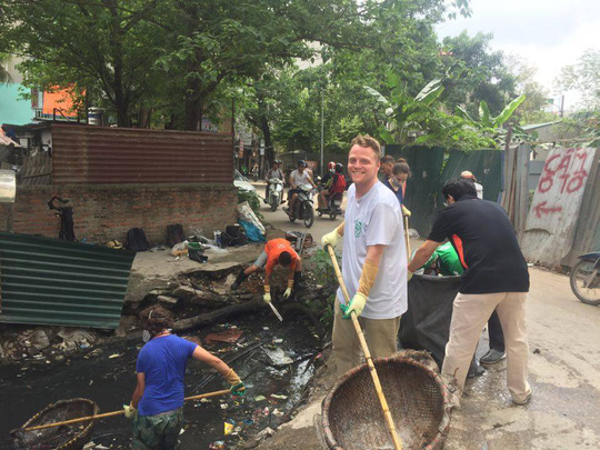 Expat to turn Hanoi's polluted canal into a garden, environmental news, sci-tech news, vietnamnet bridge, english news, Vietnam news, news Vietnam, vietnamnet news, Vietnam net news, Vietnam latest news, Vietnam breaking news, vn news