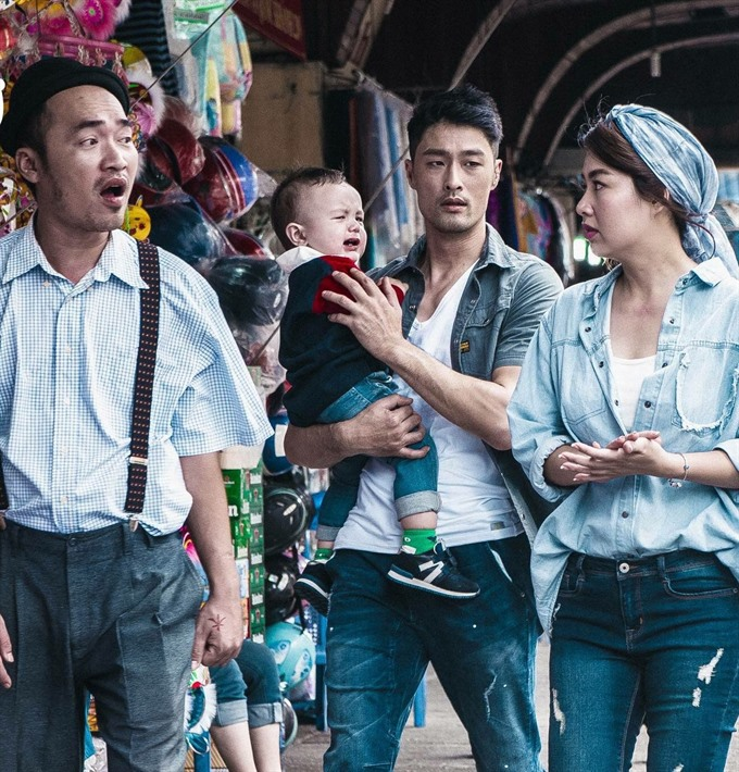 Comedy about babysitters expected to be a hit in Vietnam, vu em tap su, entertainment events, entertainment news, entertainment activities, what's on, Vietnam culture, Vietnam tradition, vn news, Vietnam beauty, news Vietnam, Vietnam news, Vietnam net new