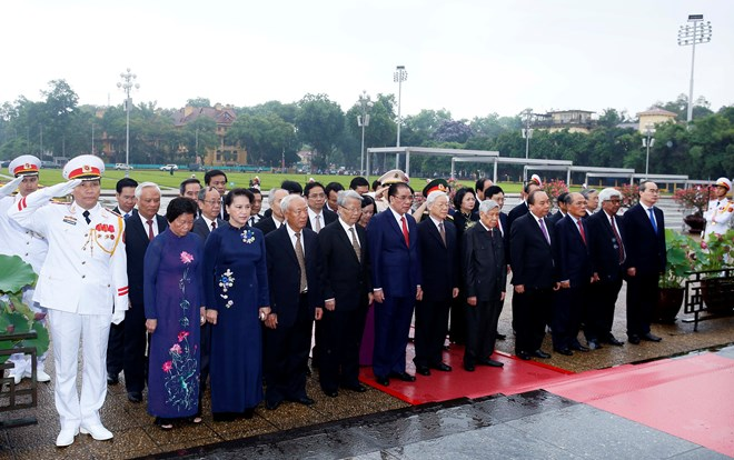 Leaders pay tribute to late President on birth anniversary, Government news, Vietnam breaking news, politic news, vietnamnet bridge, english news, Vietnam news, news Vietnam, vietnamnet news, Vietnam net news, Vietnam latest news, vn news