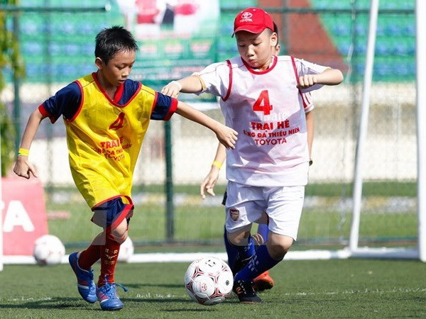 Toyota junior football summer camp to select candidates in June, Sports news, football, Vietnam sports, vietnamnet bridge, english news, Vietnam news, news Vietnam, vietnamnet news, Vietnam net news, Vietnam latest news, vn news, Vietnam breaking news