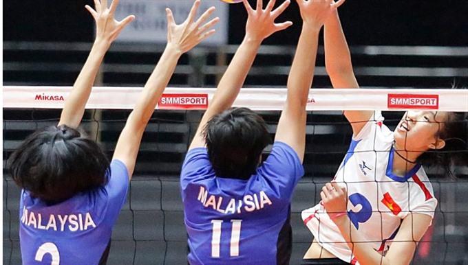 Vietnam dominate at volleyball tourney, Sports news, football, Vietnam sports, vietnamnet bridge, english news, Vietnam news, news Vietnam, vietnamnet news, Vietnam net news, Vietnam latest news, vn news, Vietnam breaking news
