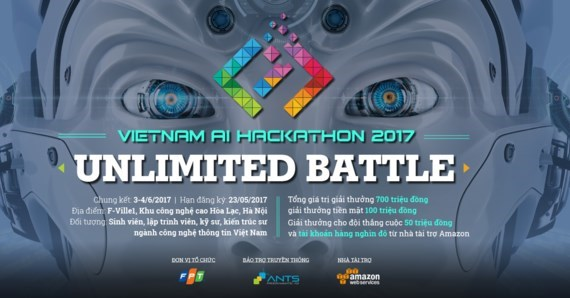 Programing competition 'Vietnam AI Hackathon 2017' launched, IT news, sci-tech news, vietnamnet bridge, english news, Vietnam news, news Vietnam, vietnamnet news, Vietnam net news, Vietnam latest news, Vietnam breaking news, vn news