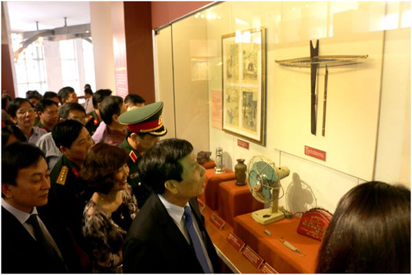 President Ho souvenirs, display, HCM Museum, Vietnam economy, Vietnamnet bridge, English news about Vietnam, Vietnam news, news about Vietnam, English news, Vietnamnet news, latest news on Vietnam, Vietnam