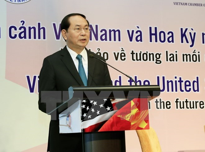Vietnam welcomes US investors: President, Government news, Vietnam breaking news, politic news, vietnamnet bridge, english news, Vietnam news, news Vietnam, vietnamnet news, Vietnam net news, Vietnam latest news, vn news