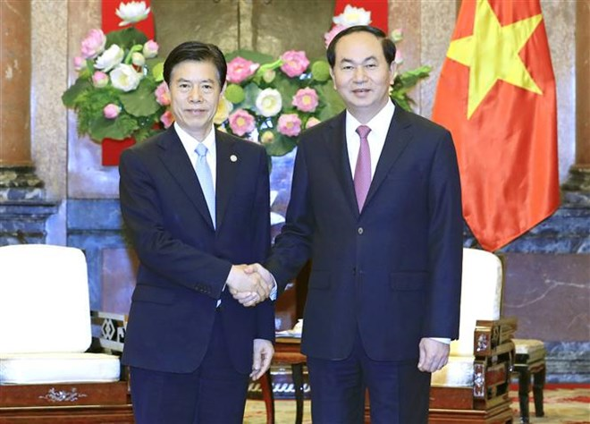 President shows hope for stronger economic ties with China