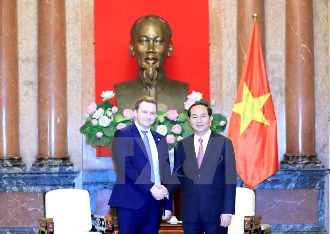 President Tran Dai Quang to visit Russia in June