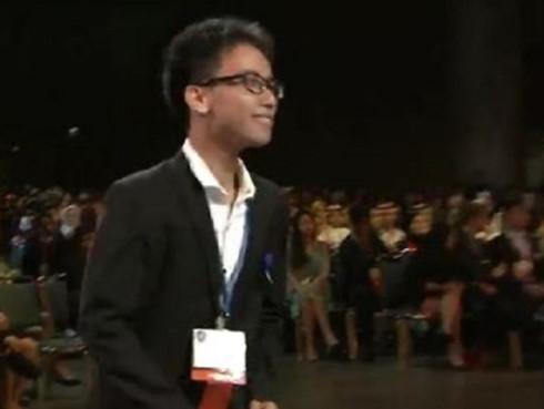 Vietnamese students win top honours at US science fair