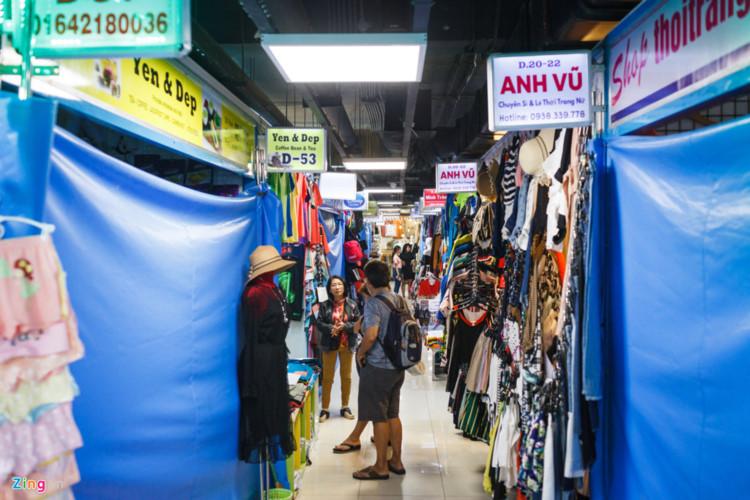 Saigon underground market