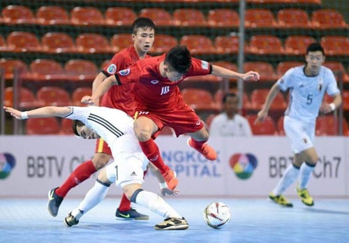 Vietnam lose to Japan in futsal event