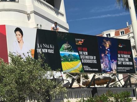 Former tourism ambassador Ly Nha Ky milks publicity at Cannes