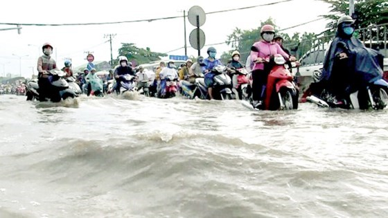 Culvert system seems ineffective in coping with flooding in HCM City