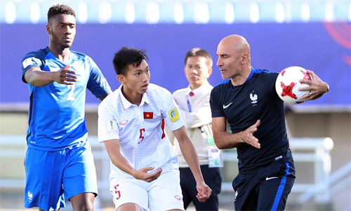 U20 World Cup: Vietnam lose 4-0 to France