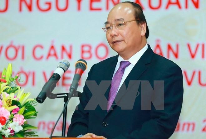 Prime Minister Nguyen Xuan Phuc leaves for official visit to US