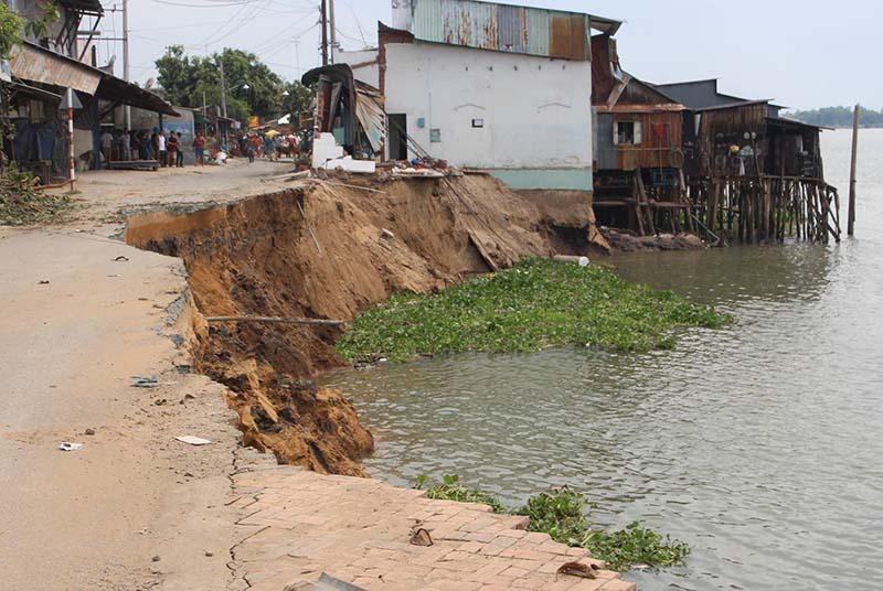 Severe erosion threatens Binh Thuan
