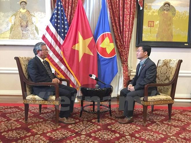 Increasing visits show growing Vietnam-US ties: ambassador