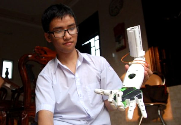 US invention prize, VN student, win, 3D printing technology, Vietnam economy, Vietnamnet bridge, English news about Vietnam, Vietnam news, news about Vietnam, English news, Vietnamnet news, latest news on Vietnam, Vietnam