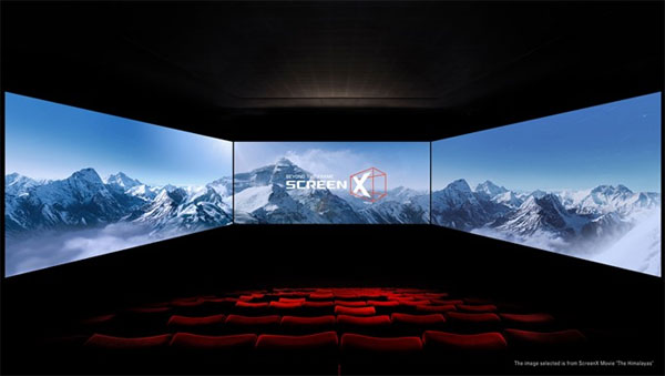 ScreenX first launched in Vietnam