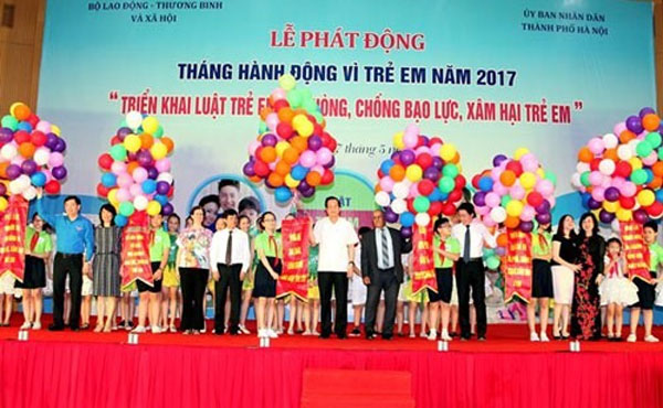 Action for children launched in Hanoi