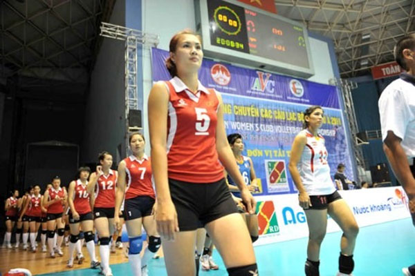 VN women's volleyball team names roster