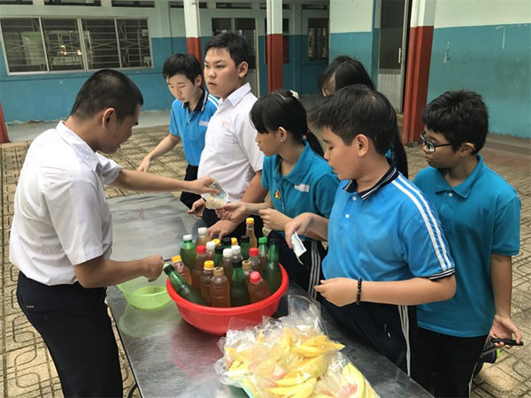 HCM City blind students, life skills, educational programmes for visually impaired students, Vietnam economy, Vietnamnet bridge, English news about Vietnam, Vietnam news, news about Vietnam, English news, Vietnamnet news, latest news on Vietnam, Vietnam