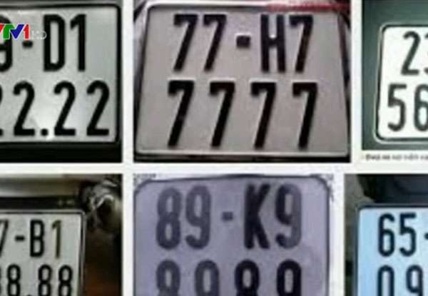 Five cities to auction interesting number plates
