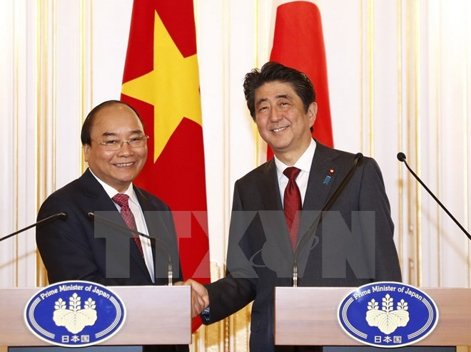 Vietnamese, Japanese PMs agree on orientations for future ties, Government news, Vietnam breaking news, politic news, vietnamnet bridge, english news, Vietnam news, news Vietnam, vietnamnet news, Vietnam net news, Vietnam latest news, vn news