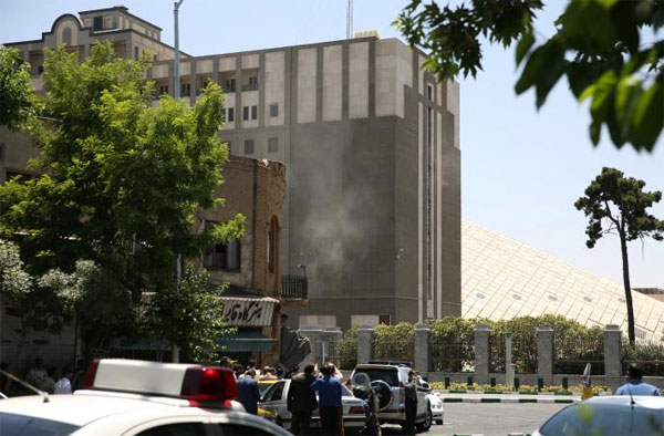 Attackers raid Iran parliament and mausoleum, up to seven dead: Iranian media