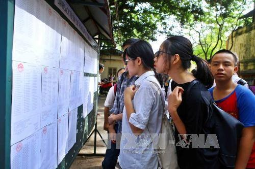 Hanoi high school entrance exam starts Friday, Vietnam education, Vietnam higher education, Vietnam vocational training, Vietnam students, Vietnam children, Vietnam education reform, vietnamnet bridge, english news, Vietnam news, news Vietnam, vietnamnet