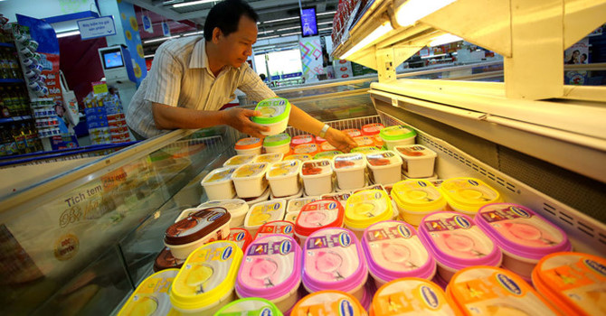 vietnam economy, business news, vn news, vietnamnet bridge, english news, Vietnam news, news Vietnam, vietnamnet news, vn news, Vietnam net news, Vietnam latest news, Vietnam breaking news, ice cream, Kido, sweets manufacturers