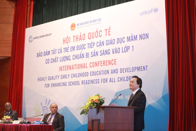 Vietnam succeeds in universal education coverage for 5-year-old children: official, Vietnam education, Vietnam higher education, Vietnam vocational training, Vietnam students, Vietnam children, Vietnam education reform, vietnamnet bridge, english news, Vi