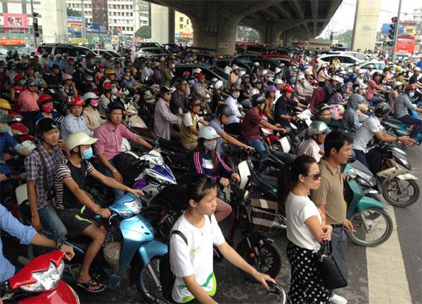 Proposal: Hanoi motorbike ban by 2030