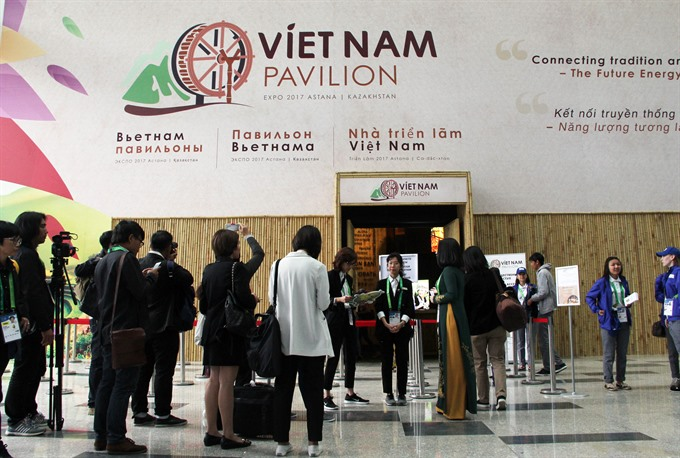 Vietnam House at Expo 2017 Astana
