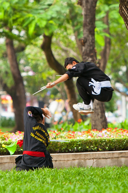 Viet Nam's traditional martial arts, preserve traditional Vietnamese martial arts, Vietnam economy, Vietnamnet bridge, English news about Vietnam, Vietnam news, news about Vietnam, English news, Vietnamnet news, latest news on Vietnam, Vietnam
