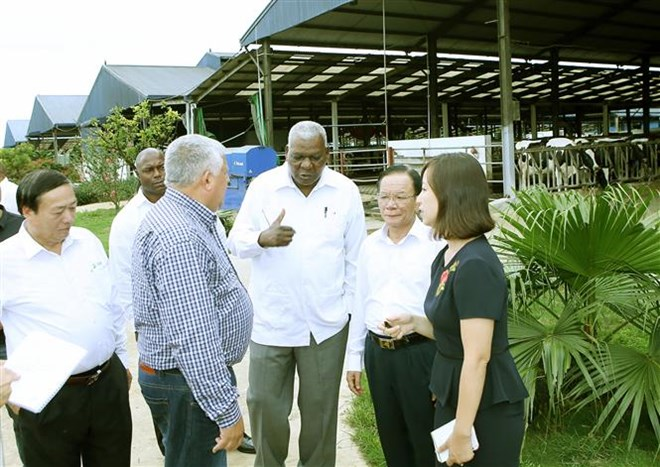 Cuban top legislator visits Son La province, Government news, Vietnam breaking news, politic news, vietnamnet bridge, english news, Vietnam news, news Vietnam, vietnamnet news, Vietnam net news, Vietnam latest news, vn news
