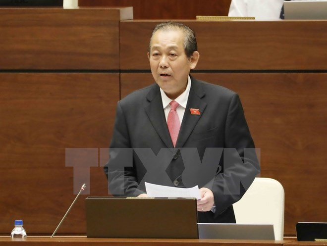 Deputy Prime Minister takes floor at NA's Q&A session, Government news, Vietnam breaking news, politic news, vietnamnet bridge, english news, Vietnam news, news Vietnam, vietnamnet news, Vietnam net news, Vietnam latest news, vn news